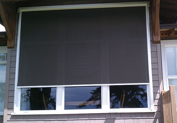 Motorized Exterior Window Shades - home decor - Xshare.us