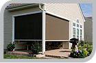 retractable awnings patio deck awnings roll up