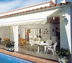 Eclipse Semi Cassette Motorized Retractable Awning