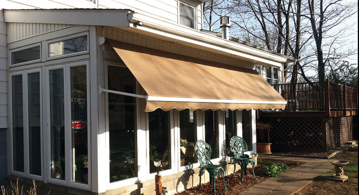 Prepping Awnings For Fall Retractable Awnings
