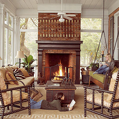 Gorgeous Patio Fireplace Designs To Inspire Your Outdoor