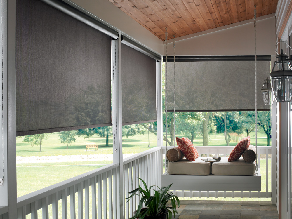 Exterior: Keep Your Cool With Solar Shades